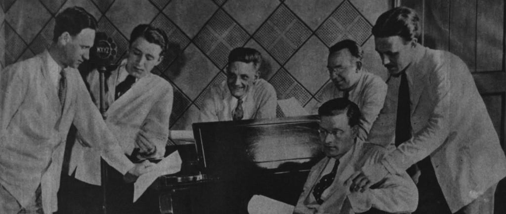 WXYZ Staff 1931